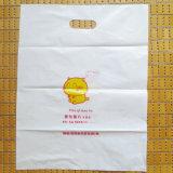 관례는 정지한다 커트 생물 분해성 플라스틱 쇼핑 백을 인쇄했다