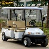 4人の乗客の貨物との販売のための電気ゴルフカート