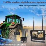 4Les appareils photo numériques sans fil de sauvegarde de 7 pouces moniteur DVR arrière du véhicule