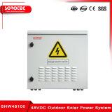 48VCC intercambiables en caliente sistema de energía solar al aire libre con el grado de protección IP55