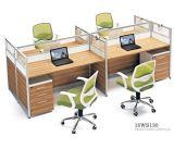 Sitios de trabajo del personal de los muebles de oficinas del sitio de trabajo con el ODM del OEM movible del zócalo/de los cajones mantenido