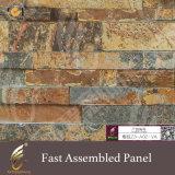 床のための大理石カラー蜜蜂の巣のコンクリートの壁のクラッディング