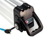 36V12ah het elektrische Type van Vissen van het Pak van de Batterij van het Lithium van de Fiets Zilveren met de Cellen van LG voor de Rit van de Snelheid