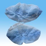 Couverture imperméable à l'eau rouge de chaussure de PVC ou couverture de chaussure de plastique