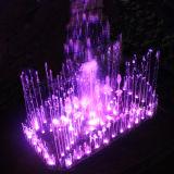 Fontaine artificielle extérieure ou d'intérieur de danse musicale d'éclairage LED de cascade à écriture ligne par ligne