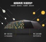 ليمون يطوي تصميم ثلاثة دليل استخدام مظلة مفتوحة