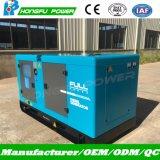40kw de Generatie van de macht met Reeks van de Generator van het Gebruik van de Motor Fwa de Eerste Geluiddichte