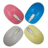 Drahtlose Maus der USB-Firmenzeichen-Zoll-Süßigkeit-Farben-2.4G für Computer