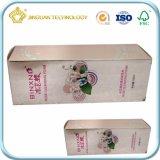 Rectángulo de papel modificado para requisitos particulares del diseño plegable (rectángulo para los productos de cuidado de piel)