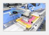Machine d'impression tissée par couleurs d'écran en soie de 3 étiquettes Spe-3000s-3c
