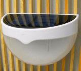 Verlichting N760&#160 van de Lamp van de Muur van de Omheining van de Sensor van de professionele 6 LEIDENE Lichte Zonne LEIDENE van de Tuin Lamp van het Comité de Waterdichte Opgezette Openlucht;