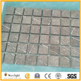 중국 싼 회색 화강암 입방체, 포석, 안뜰 돌 포장 기계