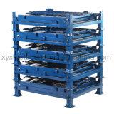 倉庫の記憶のスタック可能折りたたみケージパレット低い台