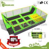 Le stationnement d'intérieur de tremplin d'adultes commerciaux de constructeur de stationnement de tremplin de zone de ciel de murs