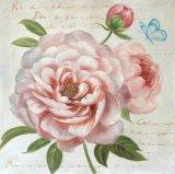 Bloemen met hetWitte Schilderen van de Kunst van de Olie van het Porselein Met de hand gemaakte