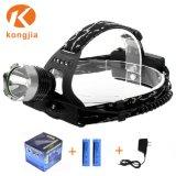 Xml再充電可能なLEDの最も強力な自動水平になるヘッドライト