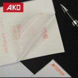 Buen precio revestimiento impermeable Glassine blanca la etiqueta de dirección de papel térmico etiquetas de envío