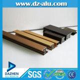 Premier profil en aluminium de vente pour faire la porte de guichet avec la couleur personnalisée de taille