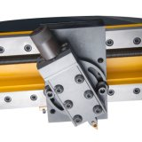 携帯用フランジの表面仕上げ機械管端の表面仕上げ機械フランジの大困難