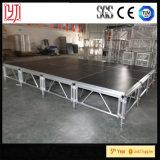 Estágio portátil usado do estágio de barato 4X4FT plataforma de madeira antiderrapante para a venda