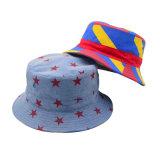 Chapéu feito sob encomenda da cubeta do verão da cópia de Coloruful