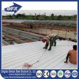 Shandong a préfabriqué la Chambre de volaille de structure métallique avec le matériel de volaille pour la ferme de grilleur