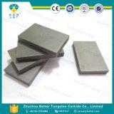 Износ цементированного карбида K10 K20 разделяет плиту карбида вольфрама