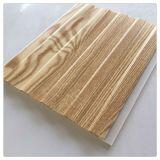 Painel do forro de PVC de madeira do painel de parede para decoração de interiores Cielo Raso de PVC