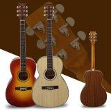 Гитара салона твердого верхнего салона высокого качества Aiersi акустическая