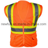 Colete de segurança de abastecimento de fábrica com bolsos