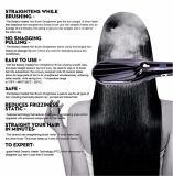 Shinon Hair Straightener brosse à cheveux céramique lisseur professionnel avec sabot/du pinceau
