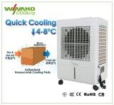 Hauptanwendungs-Fußboden, der Verdampfungsluft-Kühlvorrichtung-Wasser-Kühlvorrichtung steht