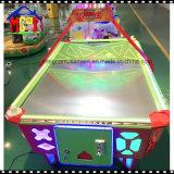 De muntstuk In werking gestelde Machine van de Arcade van de Speelplaats van de Jonge geitjes van de Lijst van het Hockey van de Lucht van het Flipperspel