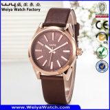 Montre de luxe de marque de montre d'alliage fait sur commande d'affaires (WY-129C)
