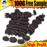 Оптовая торговля волосы 6A Индийского Weft волос