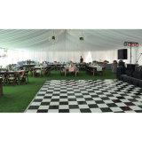 Location Wedding noire et blanche de Dance Floor d'événement de Dance Floor
