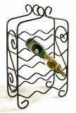 Бутылки владением 9 шкафа вина металла уникально ковки чугуна Stackable