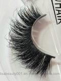 cigli fatti a mano dei capelli naturali a più strati 3D ciglio falso molle