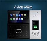 Zk WiFi Biom y Eacute Fingerprinttime Asistencia (Iface702)