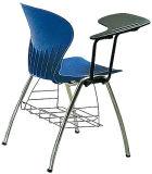 Sf-17f Madera y Metal la formación de madera silla con Bloc de notas o bocetos Bookself