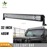 Dreifacher LED-Stab beleuchtet Großhandels405w 3 nicht für den Straßenverkehr hellen Stab der Reihen-LED