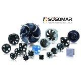200x200x60mm con 8 pulgadas cuadradas de ventilador panel tipo 220-240 VAC para refrigeración de cocina