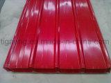 Assicella d'acciaio del tetto di alta qualità PPGI Ibr di prezzi di fabbrica