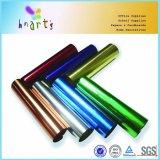 Papel metálico de la hoja del diseño colorido