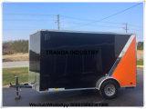 Vrachtwagen van het Voedsel van het Ijs van het Bier van het Broodje van de Staaf van de Drank van de Spaanders van de Pizza van de wafel de Franse Sandwich Geschoren