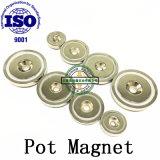 Крюк сильного магнита бака магнитный с зенковкой A36