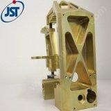 カスタム精密CNCは黄銅の機械化の部品によって製粉されたオートバイを回した