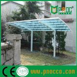 Bastidor de aluminio del techo de policarbonato de bricolaje Carports marquesinas
