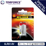 9V Non-Rechargeable Digitale Alkalische Batterij van de Droge batterij 6lr61-9V