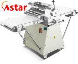 Massa Croissant Sheeter achatar o rolo da massa para equipamento de cozinha de cozedura pastelaria nítido a máquina